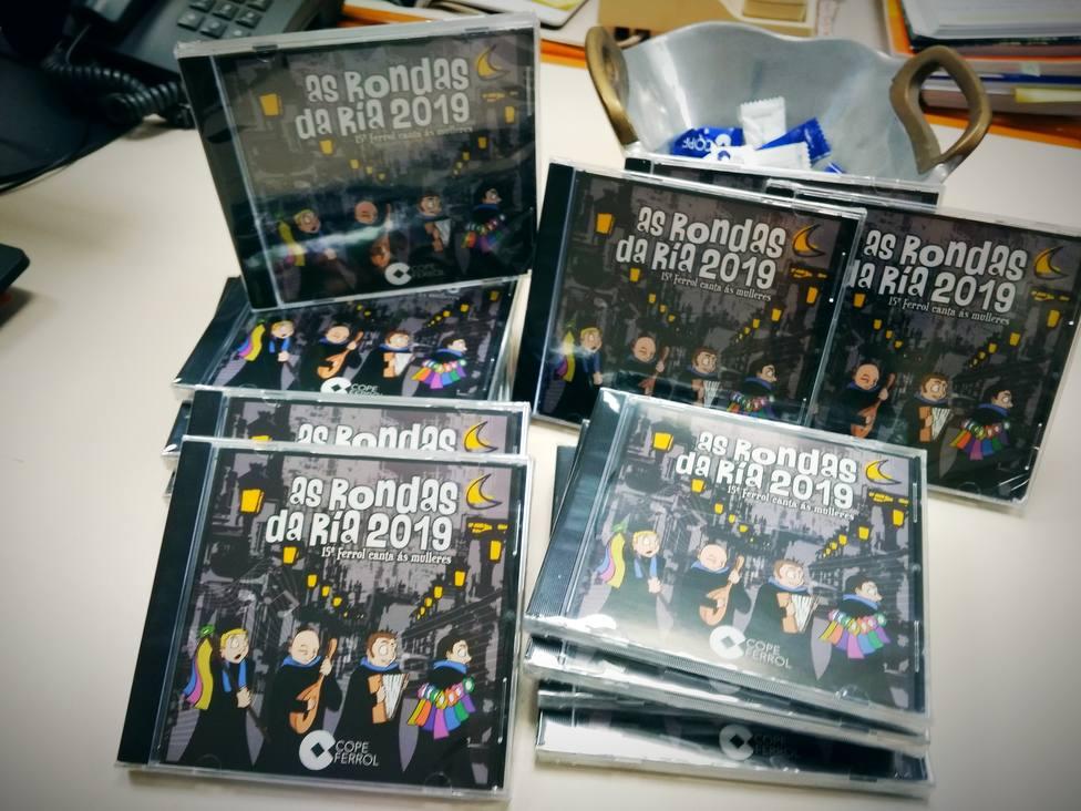Los CDs ya están en Cope Ferrol
