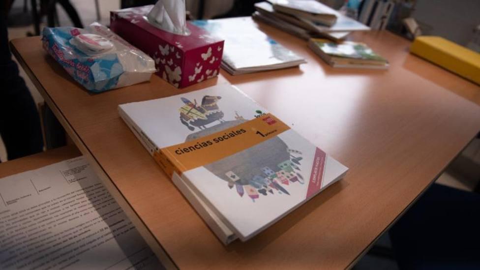 Abierto el plazo para pedir las ayudas destinadas a los centros concertados para la compra de libros de texto