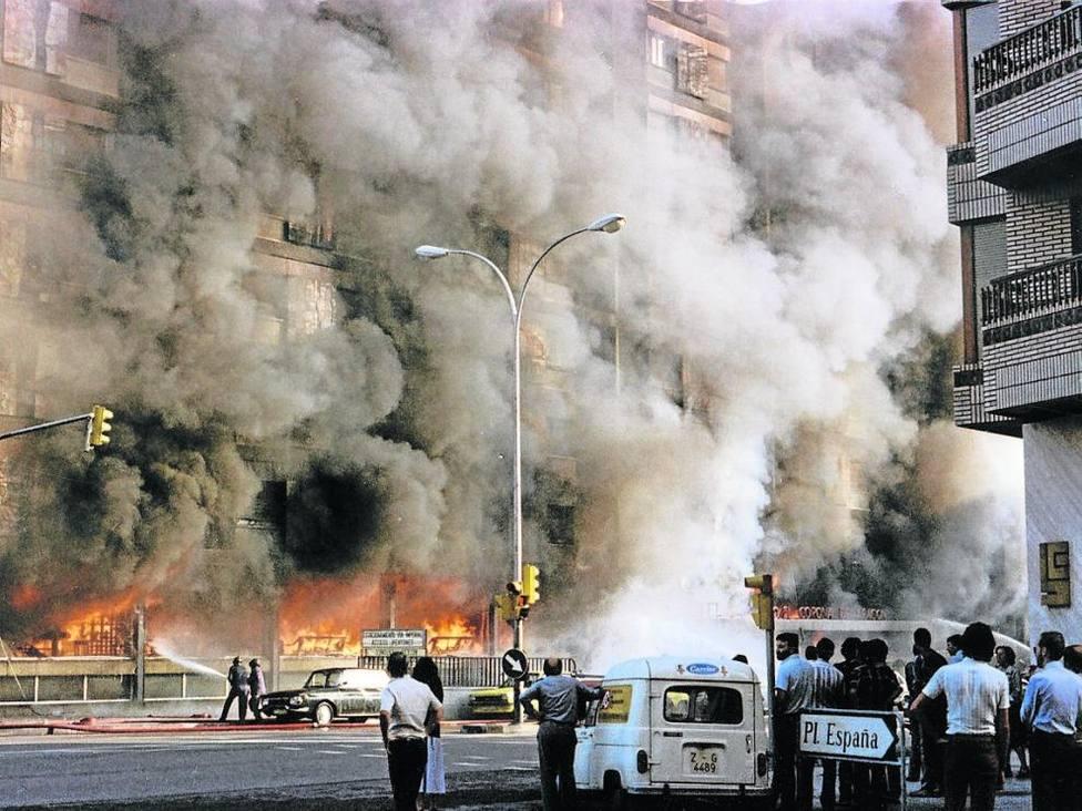 40 años de incógnitas del Hotel Corona de Aragón: ¿Accidente o atentado?