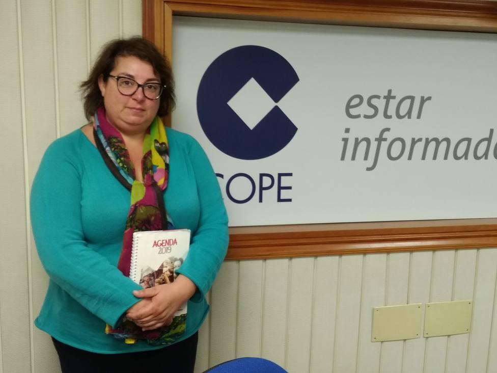 Lucía Leal es la coordinadora del programa Familia de Cáritas Diocesana de Mondoñedo-Ferrol