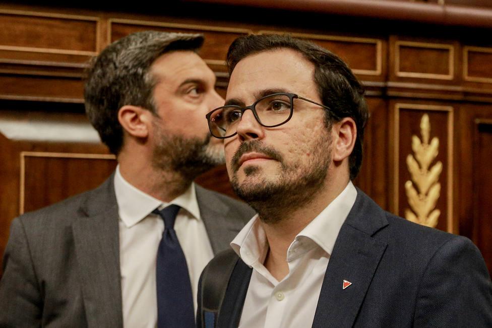 Garzón (IU) advierte al PSOE: No van a encontrar fisuras en Unidas Podemos, y menos al borde de unas elecciones