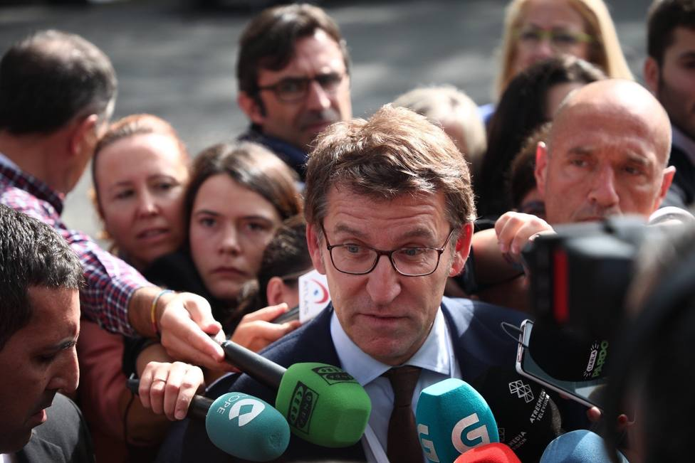 Alberto Núñez Feijóo, presidente de la Xunta - FOTO: Europa Press / Beatriz Ciscar