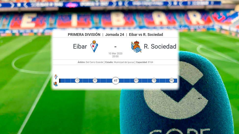 Nueva fecha para el Eibar - Real Sociedad