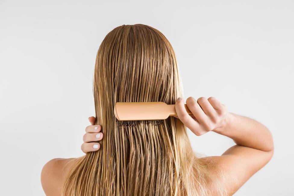 En esta posición debes de lavar tu pelo para evitar que se enrede