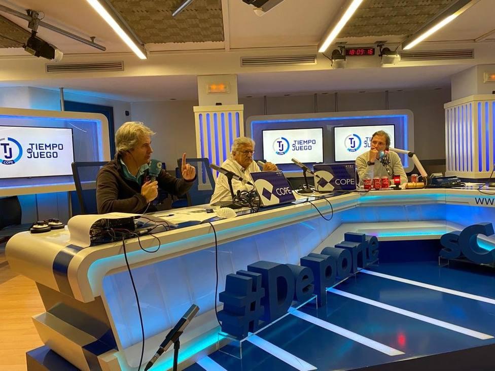 Manolo Lama, Pepe Domingo Castaño y Paco González