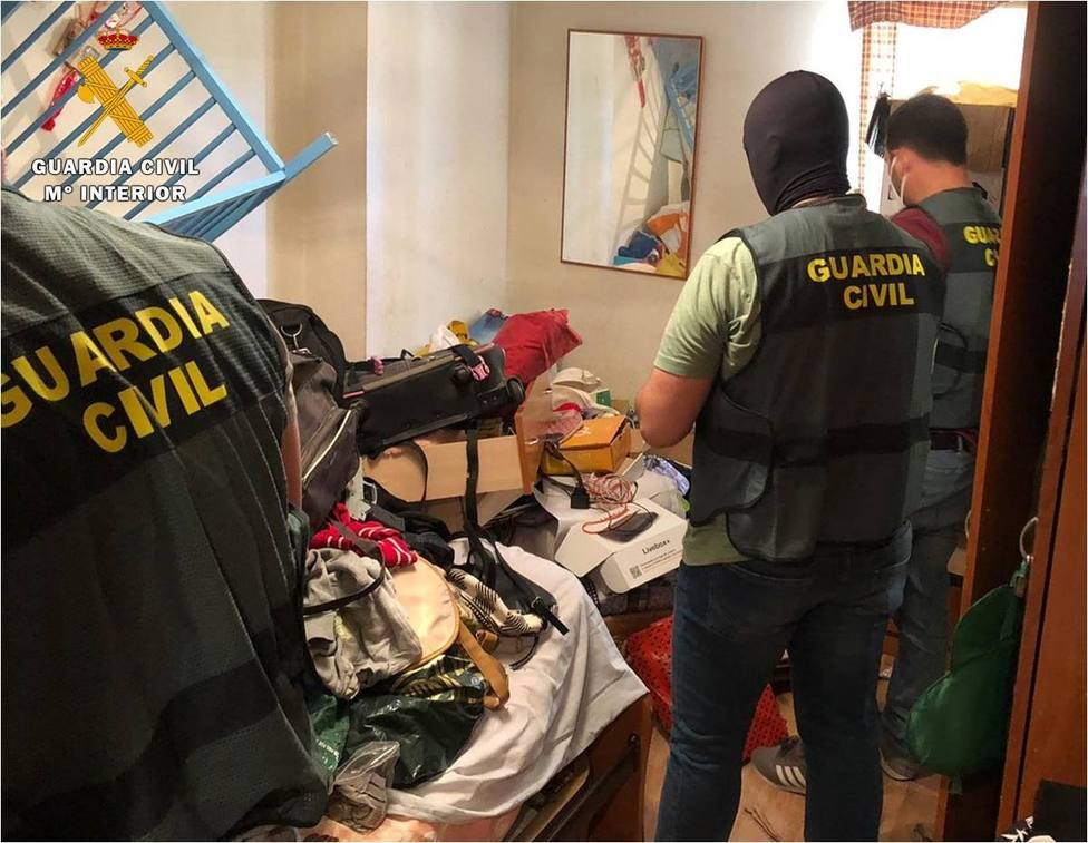 Guardia Civil. Casetas