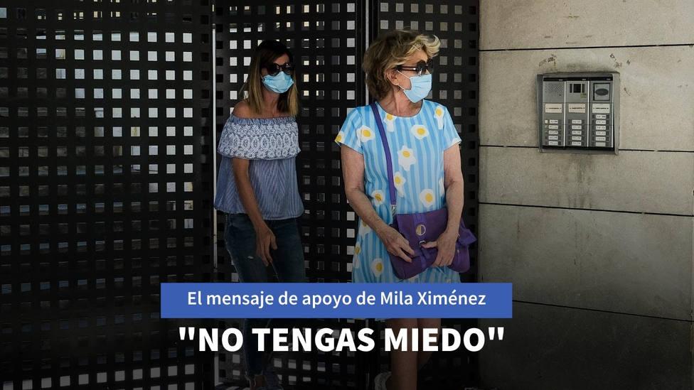 Mila Ximénez reaparece para transmitir un mensaje a un compañero de Sálvame: No tengas miedo