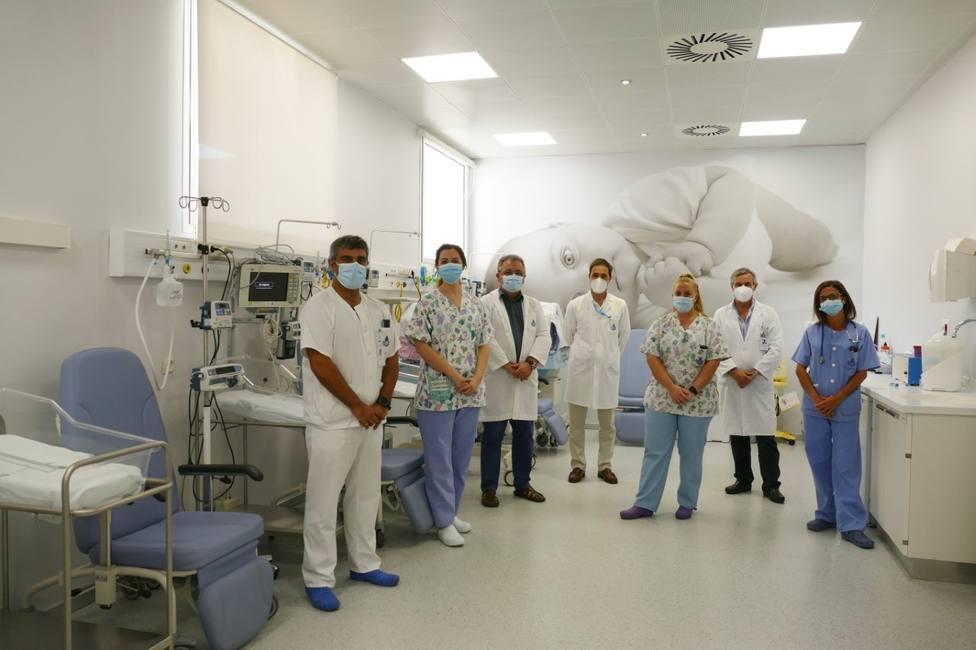 El Hospital San Juan de Dios inaugura su nueva unidad neonatal ante el incremento de nacimiento