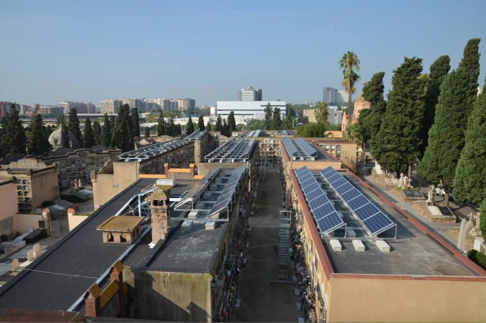 Cementerio de Les Corts, el primer equipamiento autosuficiente de Barcelona. - CEMENTIRIS DE BARCELONA