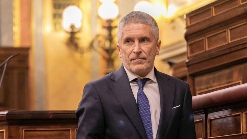 Marlaska afirma que no hay ningún malestar en la Guardia Civil por la absolución de Trapero