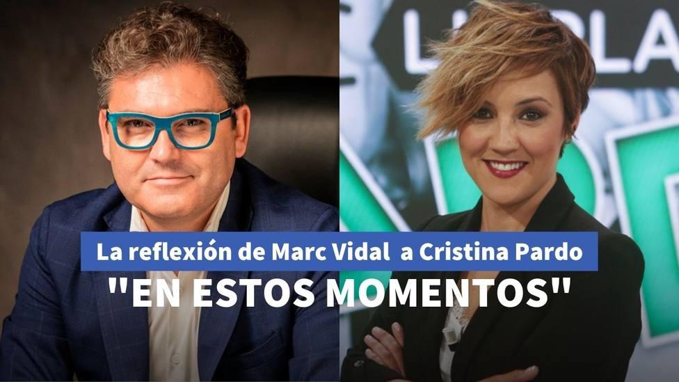 Marc Vidal y Cristina Pardo