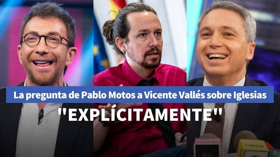 Pablo Motos y Vicente Vallés