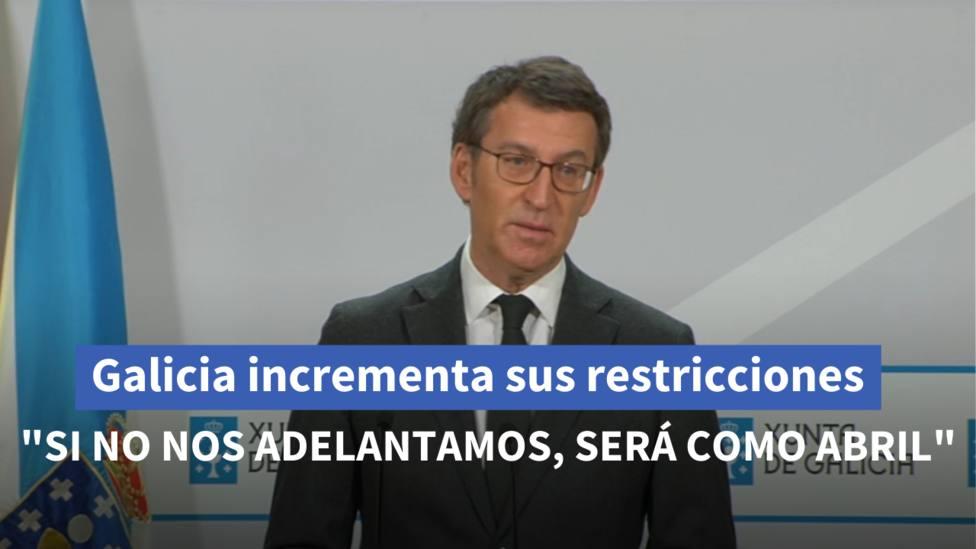 Tarjeta Feijóo restricciones