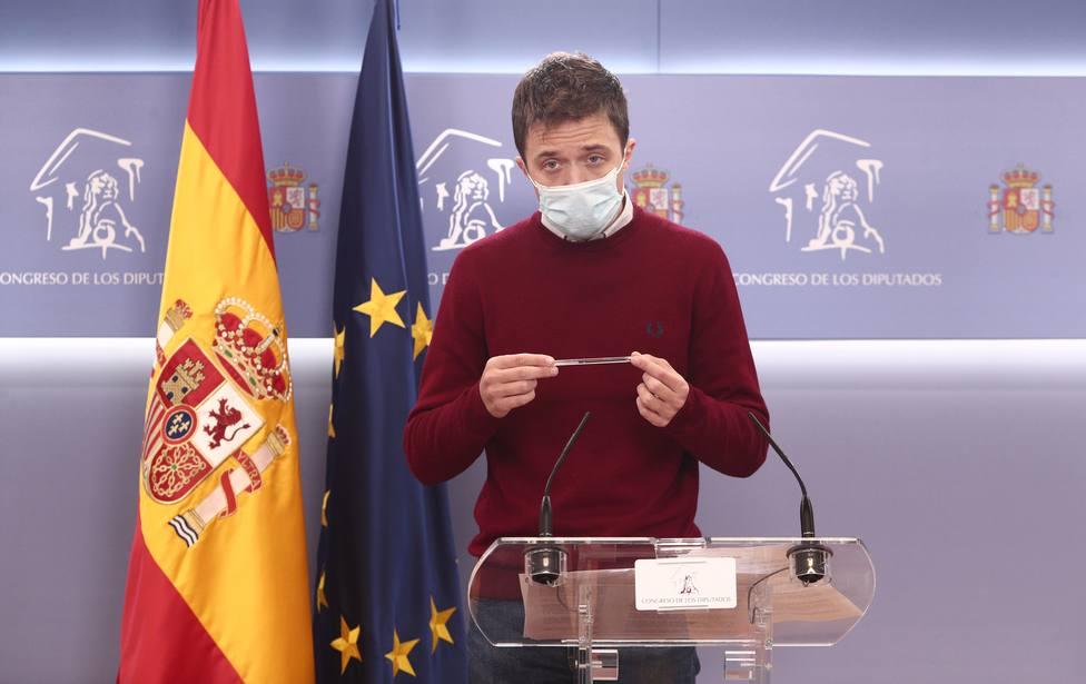 Errejón urge a regular sin peros el precio del alquiler en España