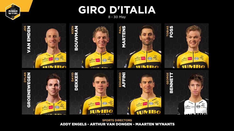 Dylan Groenewegen regresa en el Giro de Italia tras su sanción de 9 meses