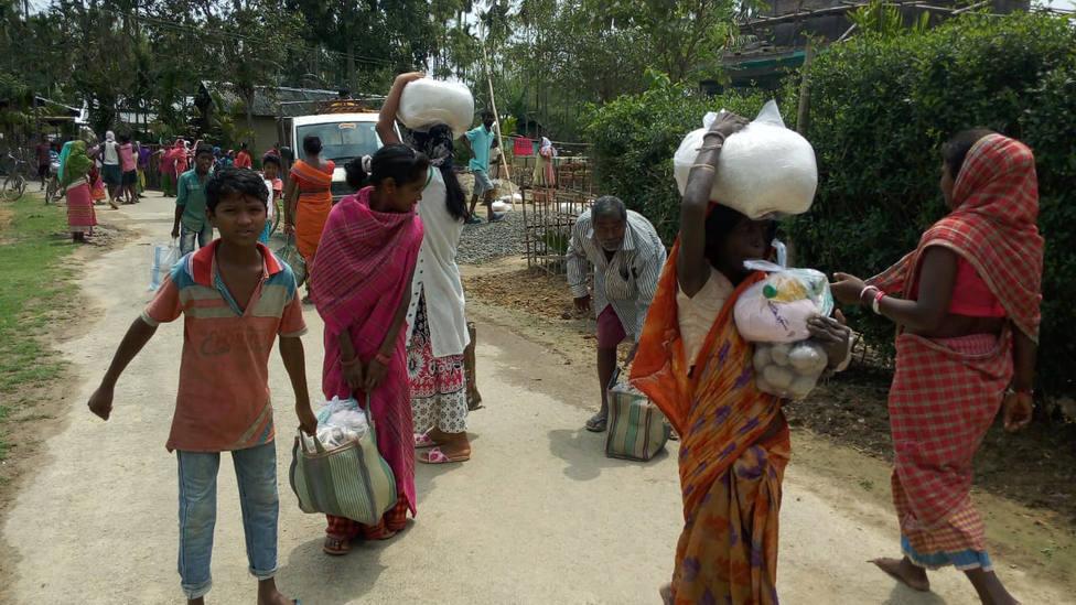 Manos Unidas y la grave situación que vive la India a causa del coronavirus