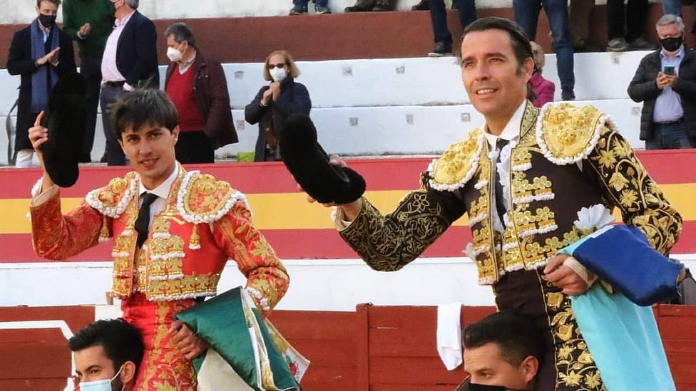 Francisco José Espada y Uceda Leal, a hombros este viernes en Zafra (Badajoz)