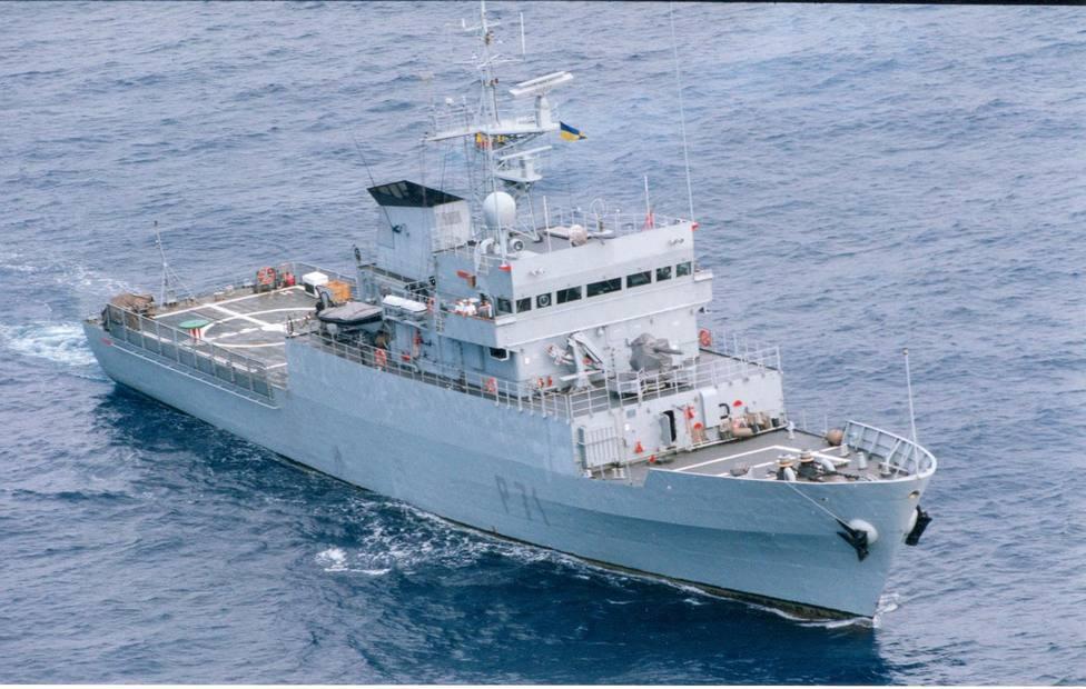 Foto de archivo del buque Serviola - FOTO: Armada