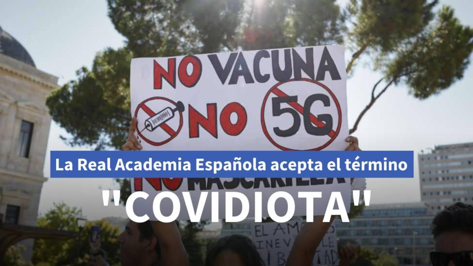 La Real Academia Española (RAE) ha admitido en el Diccionario histórico el término covidiota
