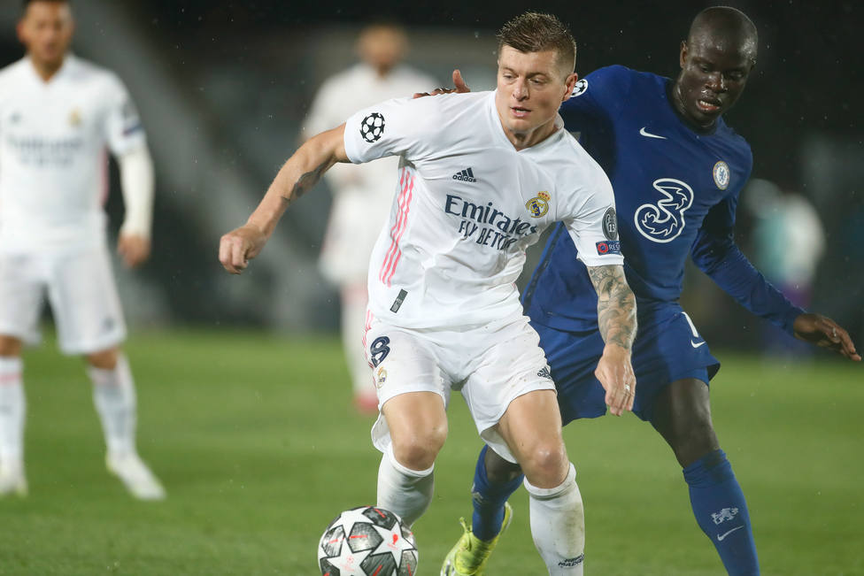 Soccer: Champions League - Real Madrid v Chelsea