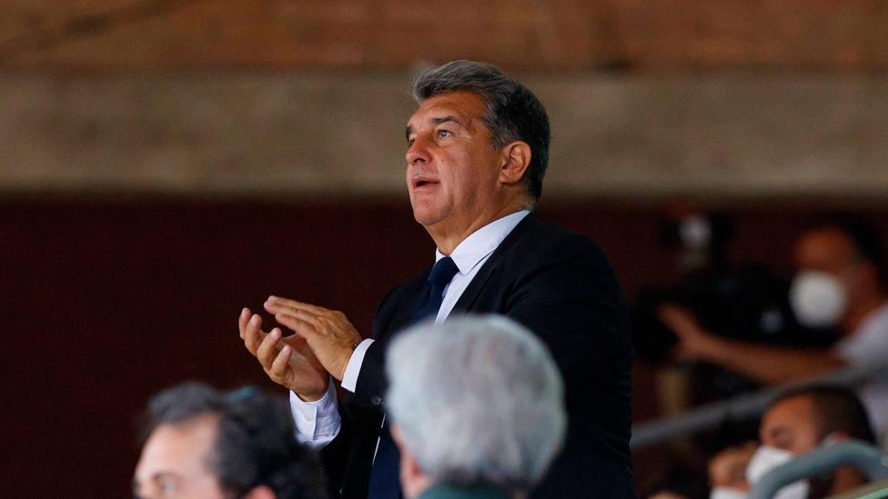 Joan Laporta, presidente del Barcelona. CORDONPRESS