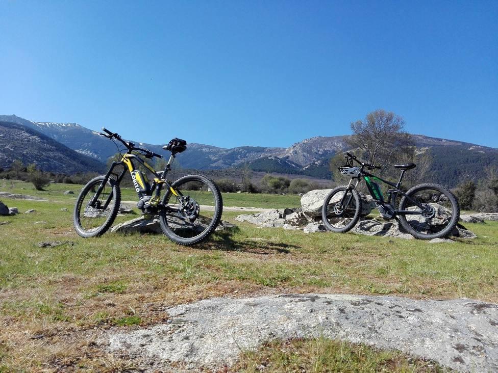 Las bicicletas eléctricas, cada vez más en boga / Foto: Neri