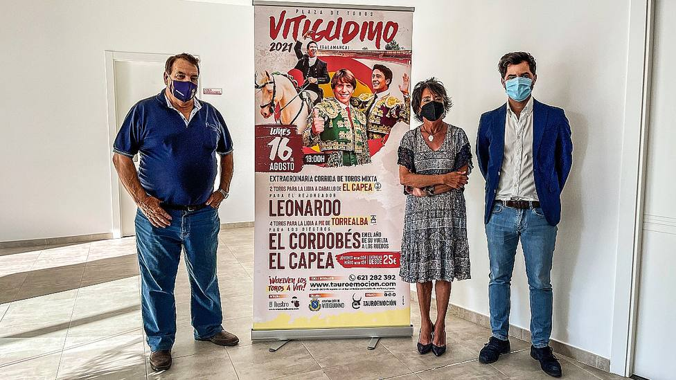 Acto de presentación del festejo mixto que anuncia la localidad charra de Vitigudino