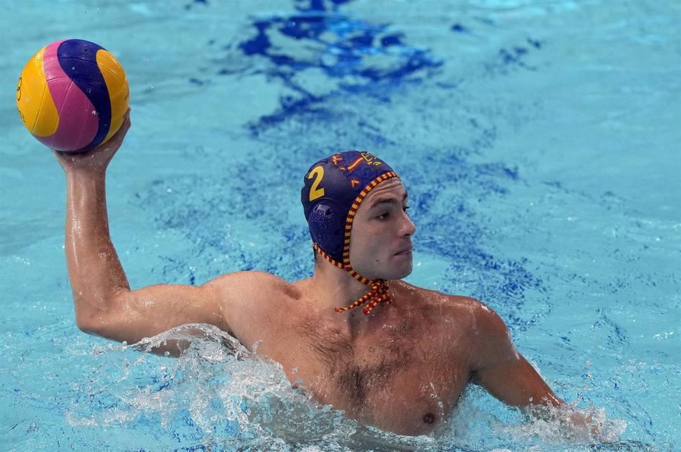 AV.- JJ.OO/Waterpolo.- La selección masculina de waterpolo no baja el ritmo y golea a Australia