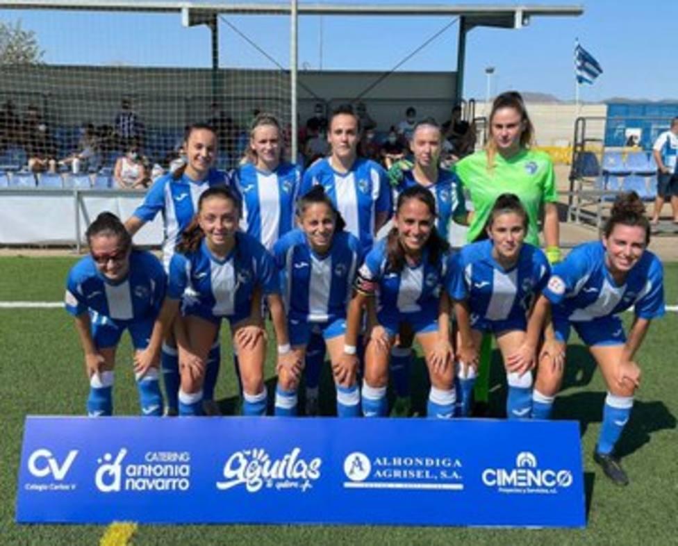 La UD Águilas Femenina pierde en su debut en casa (1-2)