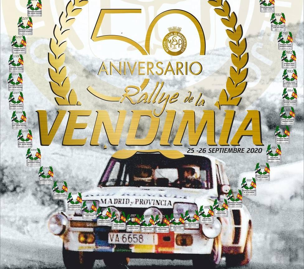 50º Rallye de la Vendimia. 24 y 25 de septiembre