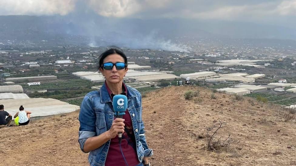 La Tarde de COPE viaja a La Palma para narrar en directo las consecuencias de la erupción del volcán