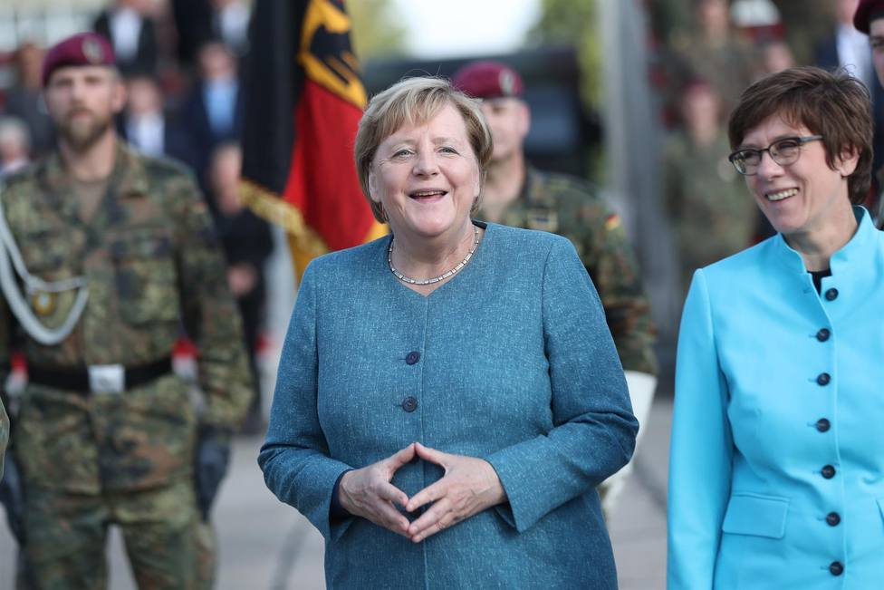 El 75% de los españoles echará de menos a Merkel