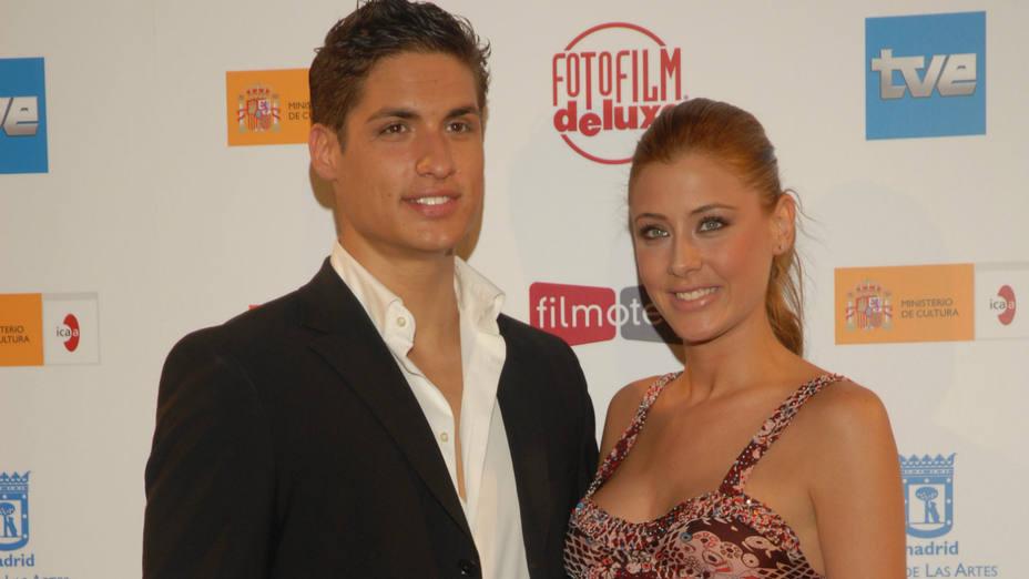 Luis Muñoz (Míster España 2007) y Elisabeth Reyes (Miss España 2006)