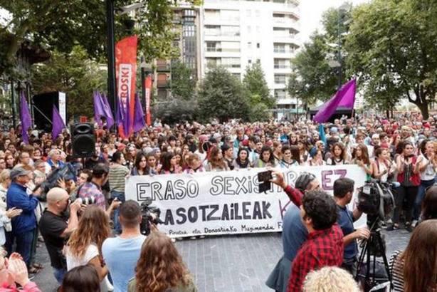 Manifestación San Sebastian