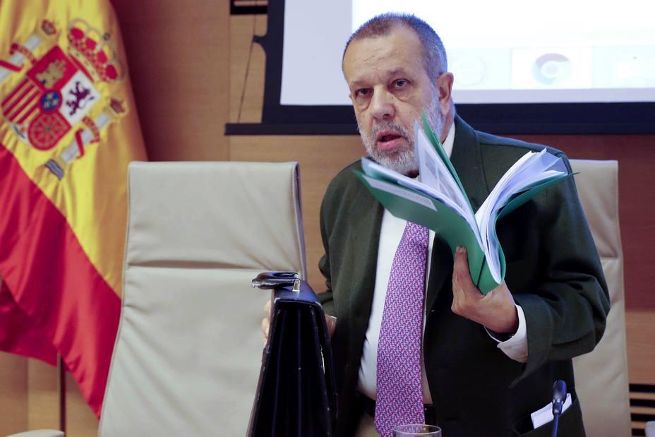 COMPARECENCIA FRANCISCO FERNÁNDEZ MARUGÁN