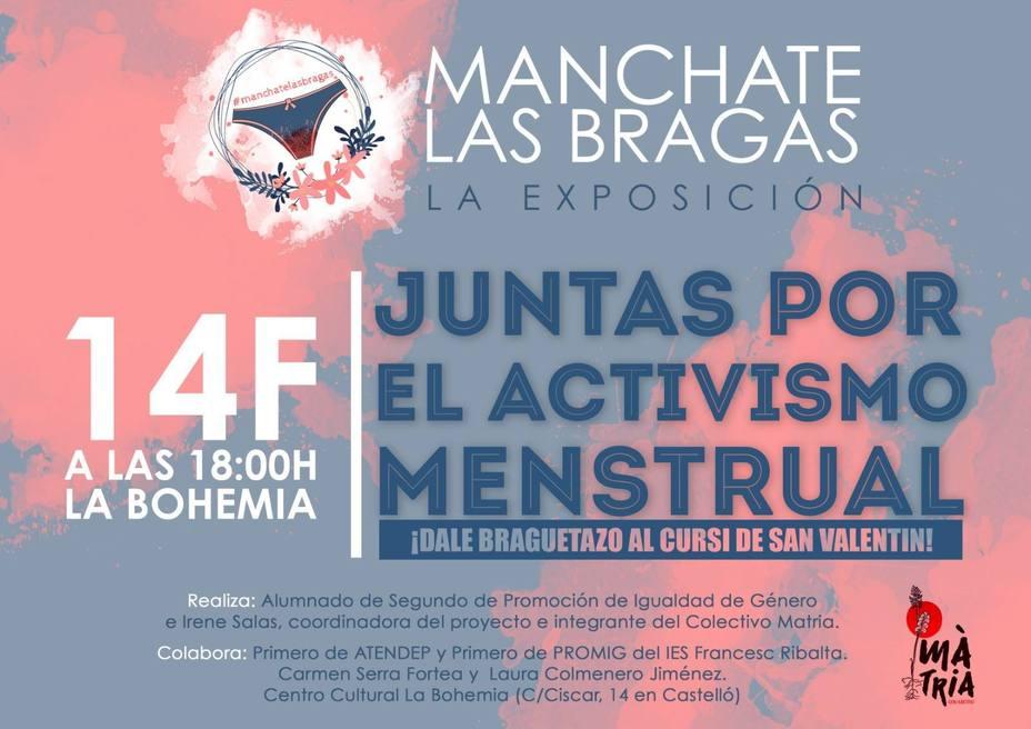bc1e09c7ae1f Castellón acoge una exposición de activismo menstrual: