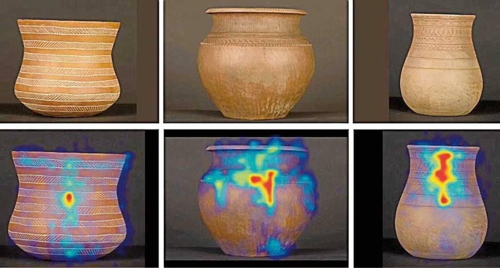 Investigadores españoles observan en cerámica arqueológica la evolución del cerebro