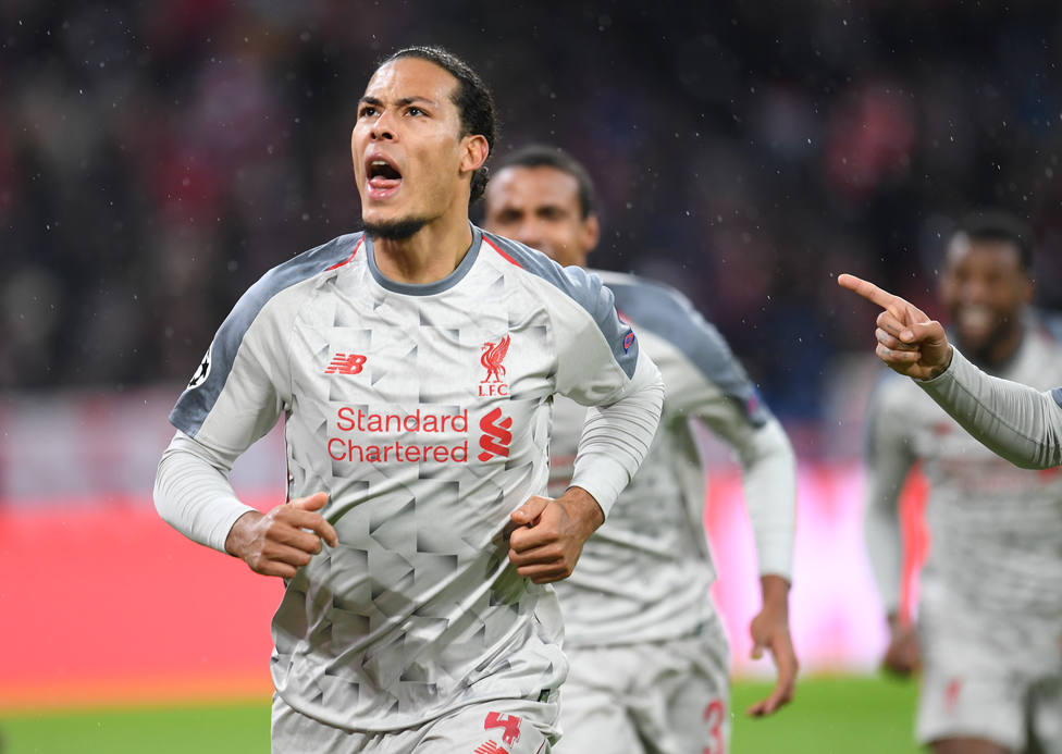 Crónica del Bayern Múnich - Liverpool, 1-3