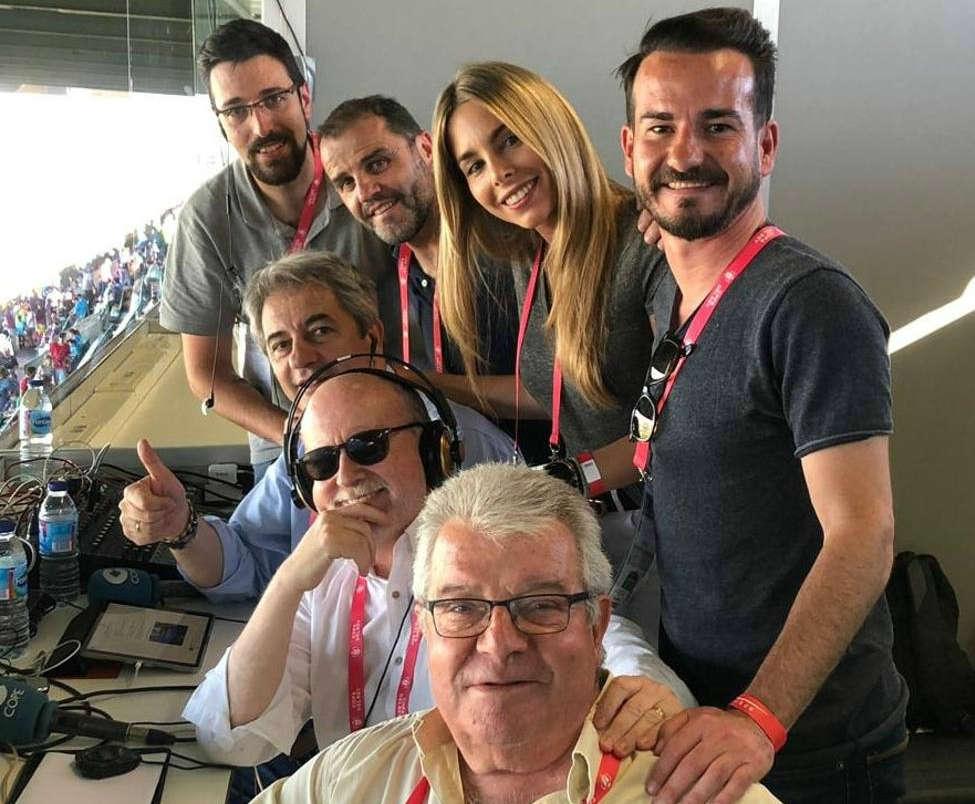 Equipo de Tiempo de Juego en Sevilla para la final de la Copa del Rey