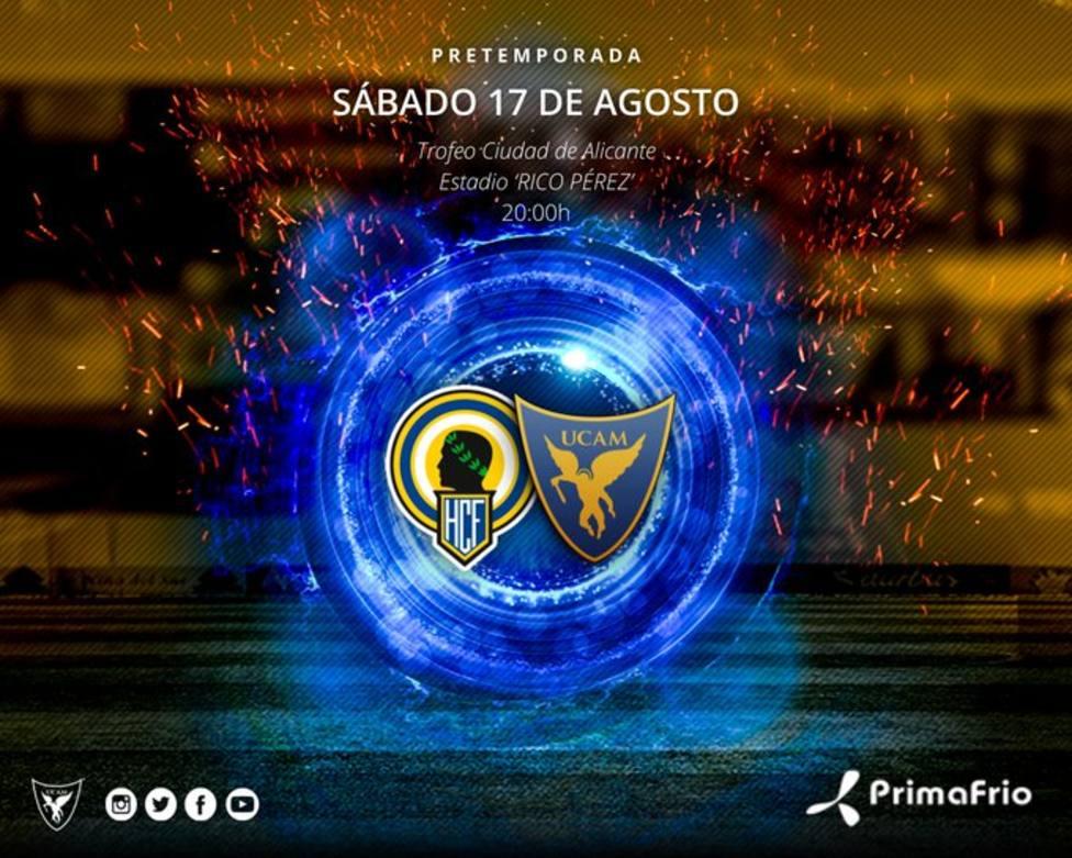 UCAM Murcia CF cerrará la pretemporada en Alicante ante el Hércules