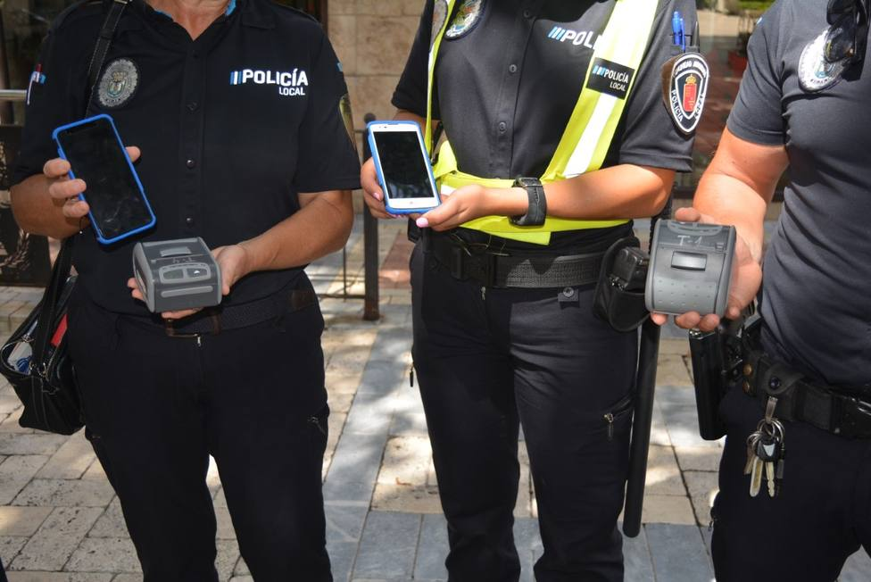 La Policía Local dispondrá de un sistema de dispositivos móviles para la mecanización de las multas de tráfico