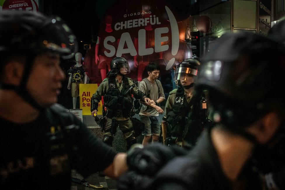 Pekín ve signos de terrorismo en las protestas opositoras de Hong Kong