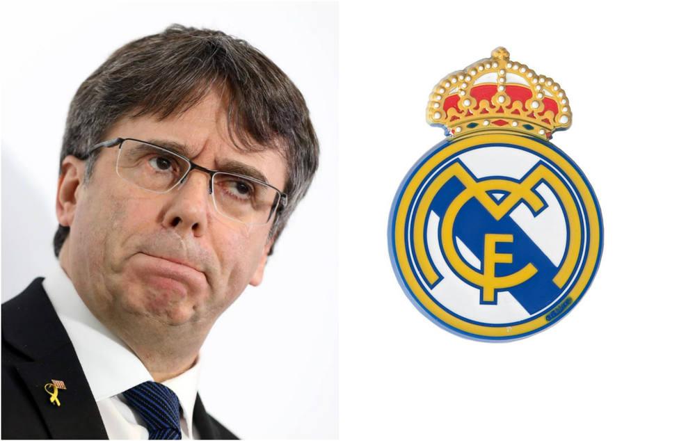 La grave acusación de Puigdemont contra el Real Madrid que nada han gustado en el club blanco