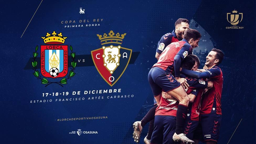Un primera para el CF Lorca Deportiva en Copa del Rey