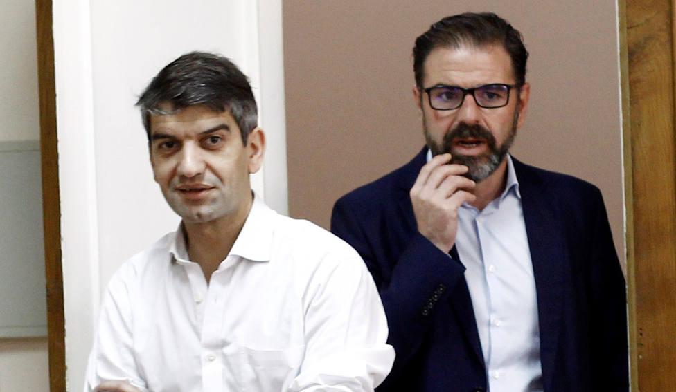 Jorge Suárez y Ángel Mato al inicio del presente mandato - FOTO: Efe / Kiko Delgado
