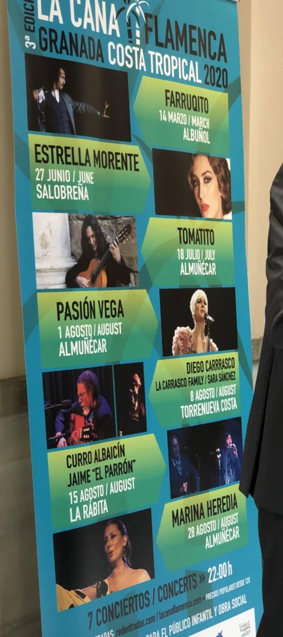 Presentación de la 3ª edición de La Caña Flamenca