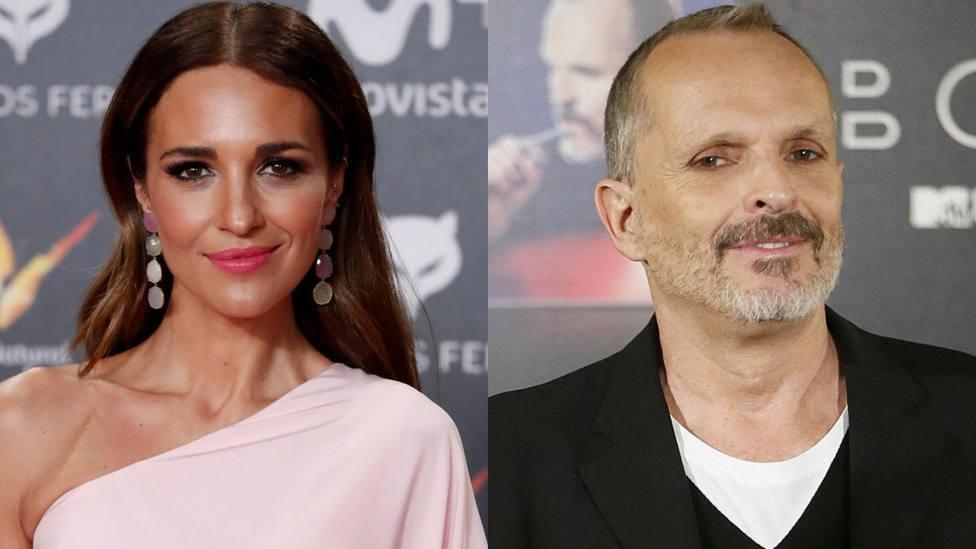 Paula Echevarría y Miguel Bosé