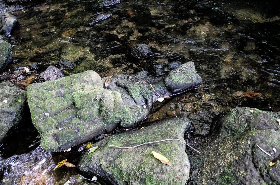 Una virgen gótica en el lecho del río Sar