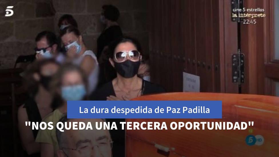 Las últimas palabras con las que Paz Padilla despide a su marido: Nos queda una tercera oportunidad