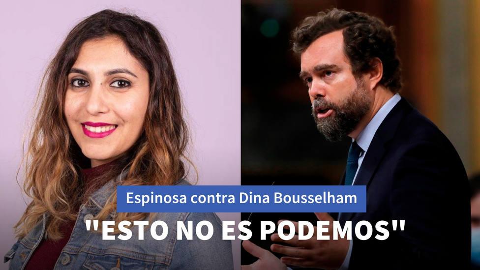 Espinosa de los Monteros deja en evidencia a Dina Bousselham por esta noticia sobre las relaciones en Vox